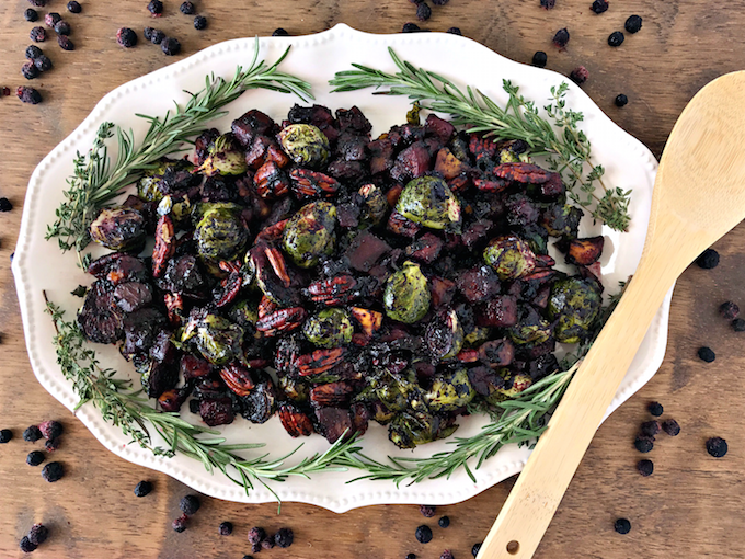 roasted-vegetables-pecans-with-wild-blueberry-balsamic-sauce-1