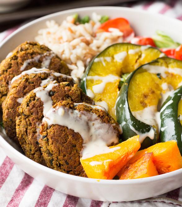 Vegetarian Power Bowls {October 2016}